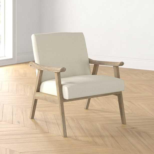 """27.5""""W Lounge Chair -  Linen - Wayfair"""