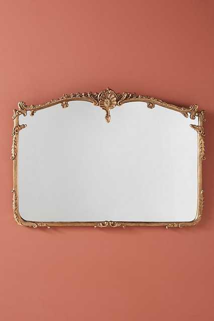 Josephine Mirror - Mantel / Gilt - Anthropologie