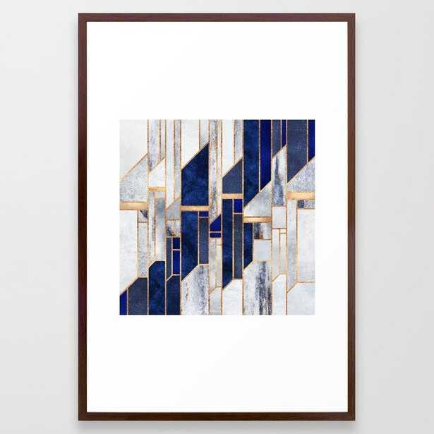 Blue Winter Sky Framed Art Print - Society6