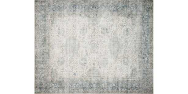 Lucca Collection LF-12 MH MIST / IVORY - 10 x 13 - Loma Threads