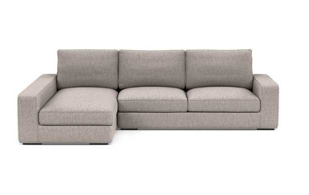 AINSLEY Sectional Sofa with left Chaise - Earth - Interior Define