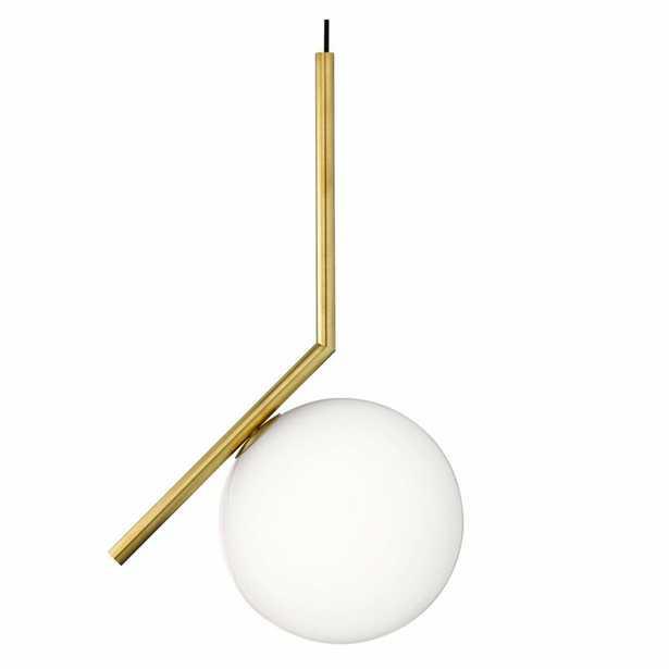 Heaney 1-Light Single Globe Pendant - Wayfair