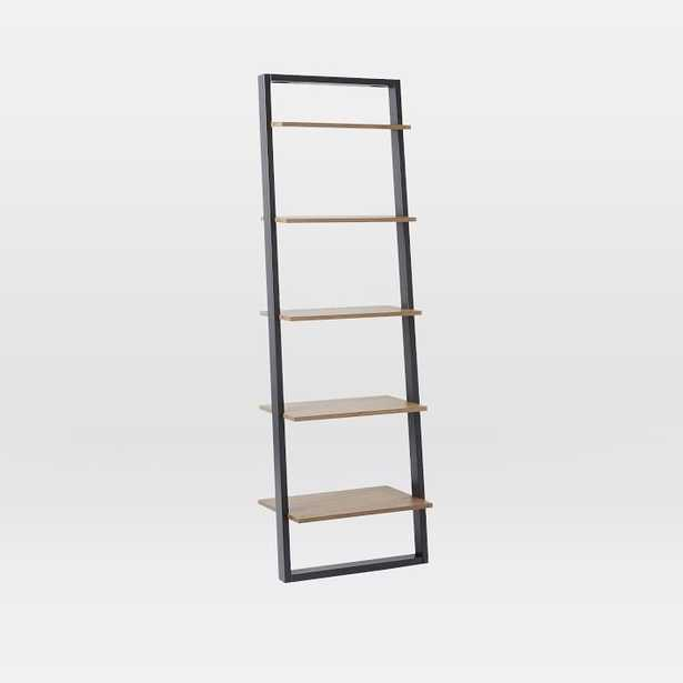 Ladder Shelf Storage Wide Shelf, Sand/Stone - West Elm