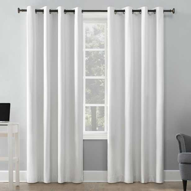Duran Insulated Max Blackout Thermal Grommet Single Curtain Panel - Wayfair