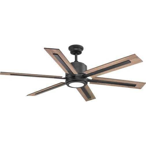 Lesure 6 Blade LED Ceiling Fan with Remote - Birch Lane