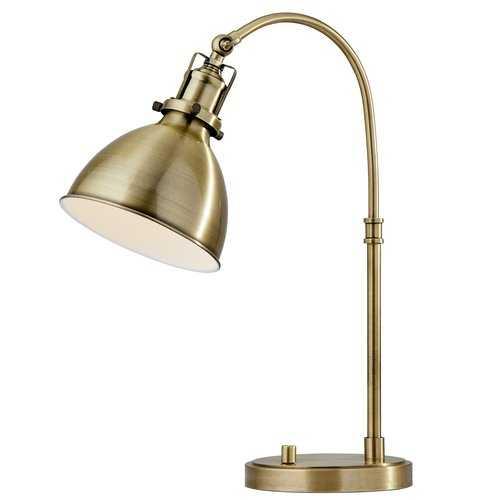 """Towcester 20"""" Desk Lamp - Wayfair"""