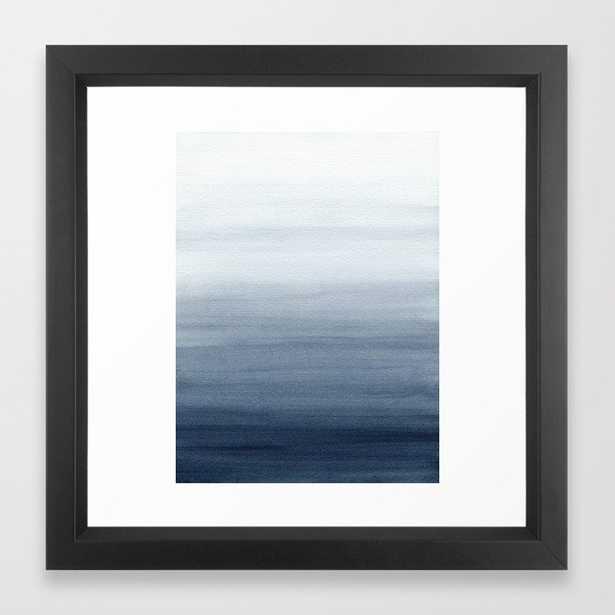 Ocean Watercolor Painting No.2 Framed Art Print - Society6