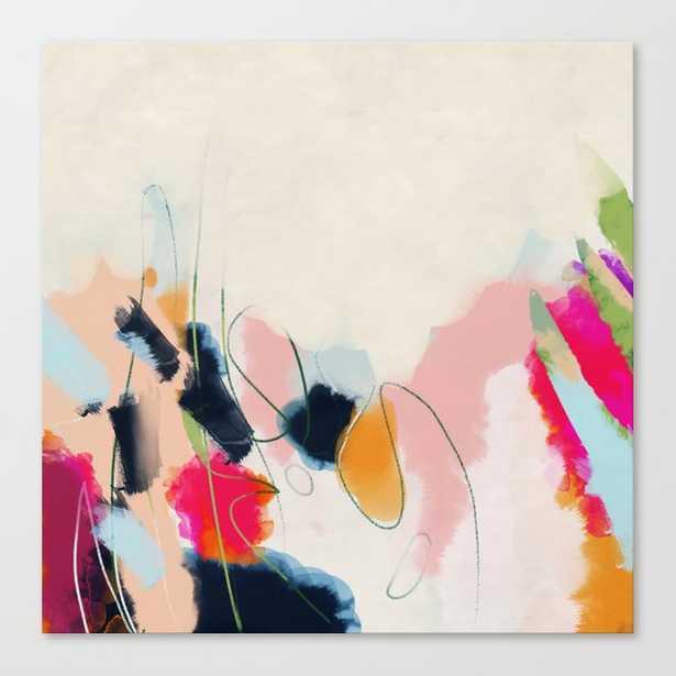 abstract art Canvas Print - Society6
