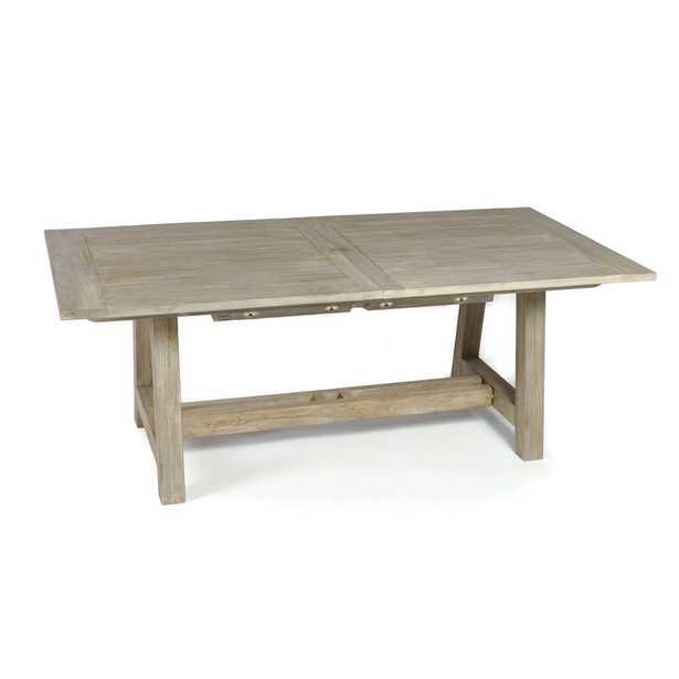 Alvah Extendable Teak Dining Table - Wayfair
