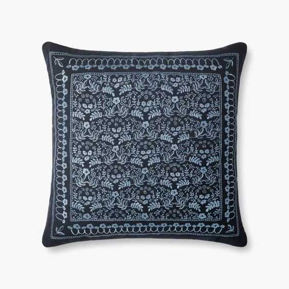 """P6045 RP Navy,Blue / 22"""" x 22"""" / Poly Insert - Loma Threads"""