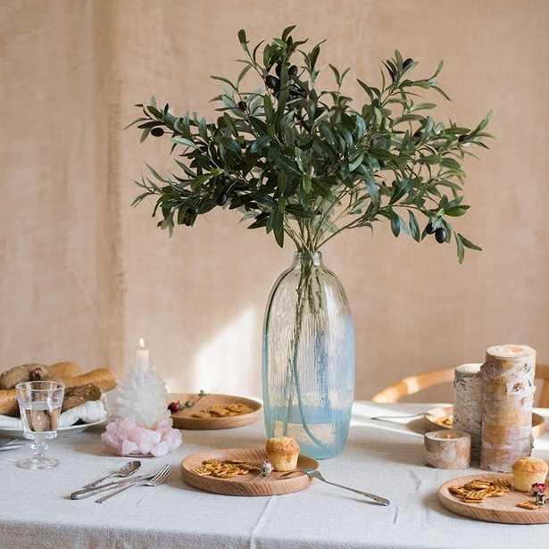 Artificial Large Olive Stem (5 stems) - Wayfair