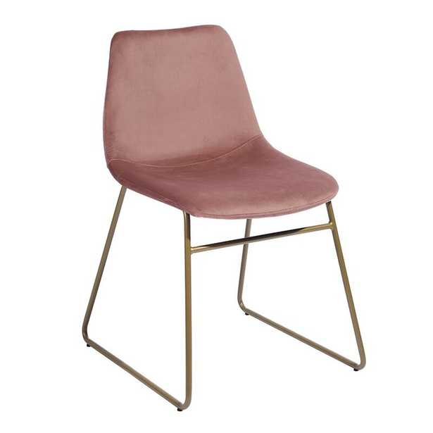 Aleena Velvet Upholstered Side Chair (Set of 2) - Wayfair