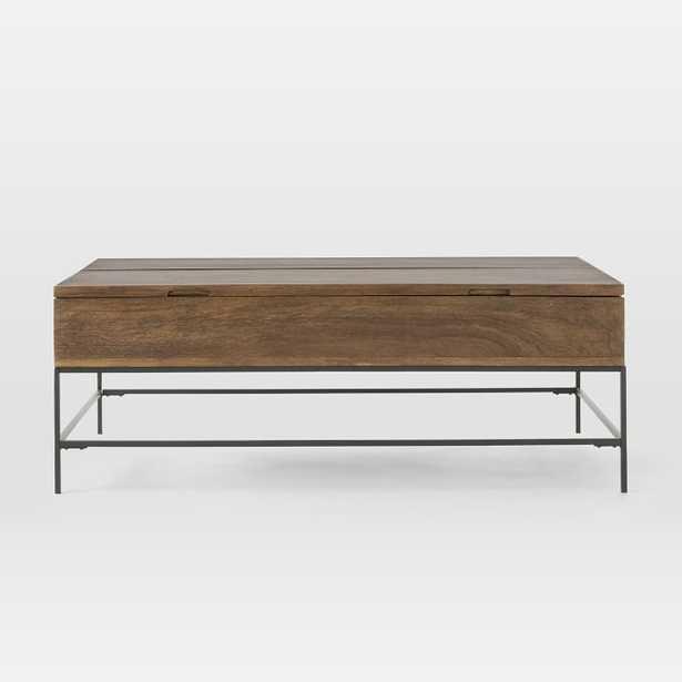 Industrial Storage Coffee Table, Large - West Elm