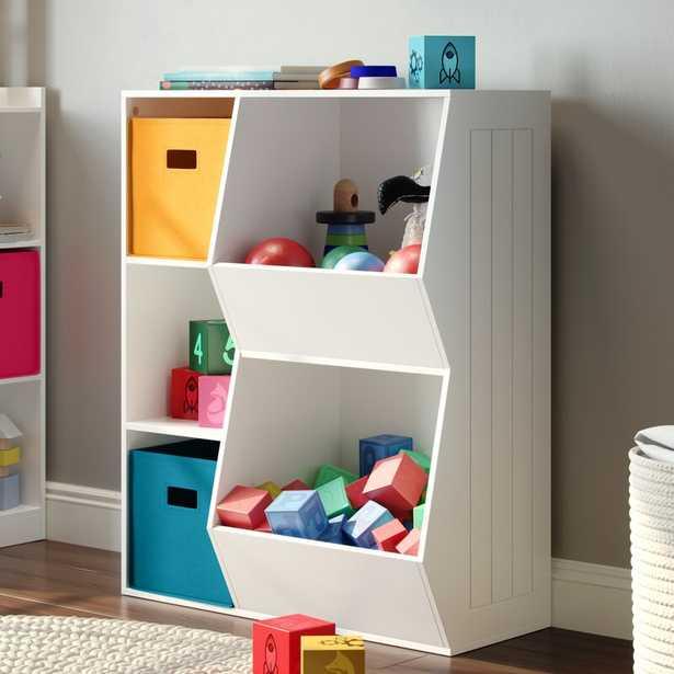 Fussell RiverRidge 3-Cubby, 2-Veggie Bin Toy Organizer - Wayfair