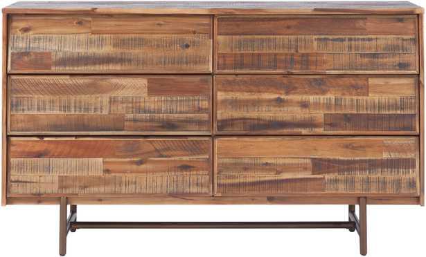 EPaige Wooden 6 Drawer Dresser - Maren Home