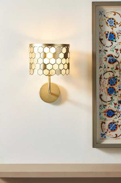 Honeycomb Sconce - Anthropologie
