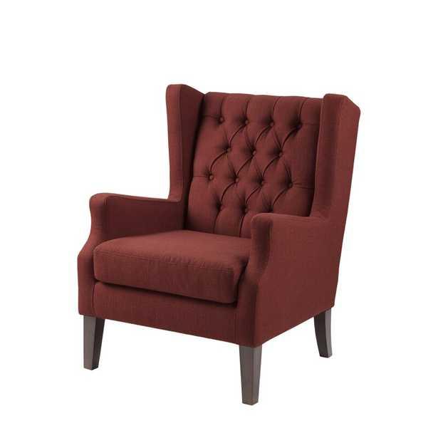 Allis 30.36'' Wide Tufted Wingback Chair - Wayfair