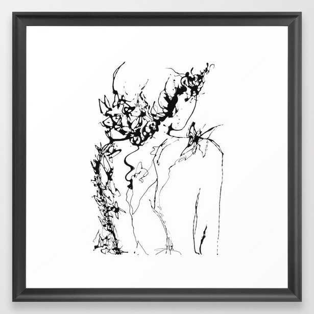 Chrysalide Framed Art Print 22x22 - Society6