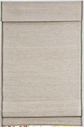 "Custom Home Collection Designer Woven Wood Shade 31.75"" x 73.5"" Kula Coconut LIJU004 - Home Depot"