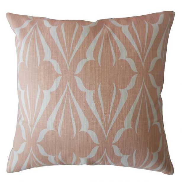 Jacquez Geometric Pillow Cameo - Linen & Seam