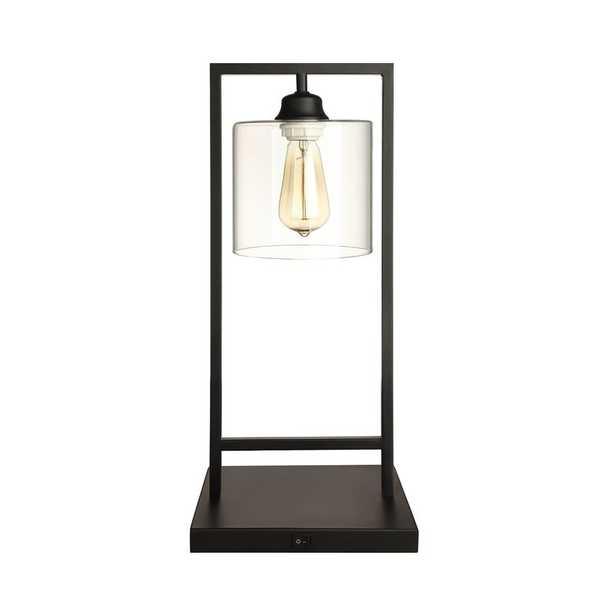 """Vintage Bell Inspired Metal 21"""" Table Lamp - Wayfair"""