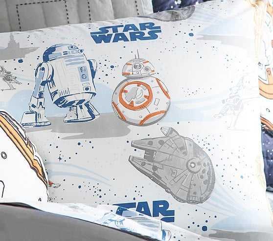 Star Wars(TM) Droid(TM) Sheet Set, Twin - Pottery Barn Kids
