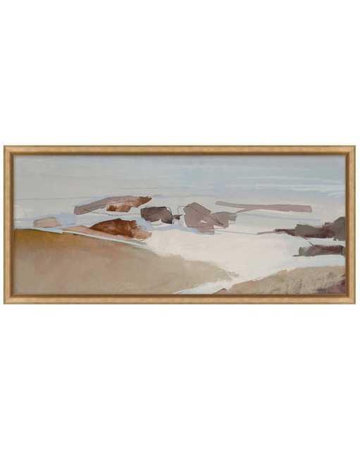 BEACH ABSTRACT Framed Art - Small - McGee & Co.