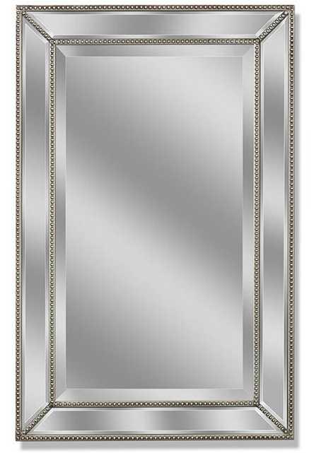 Sharee Beaded Accent Wall Mirror - Wayfair