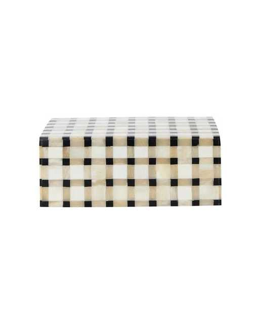 Grid Patterned Box - McGee & Co.