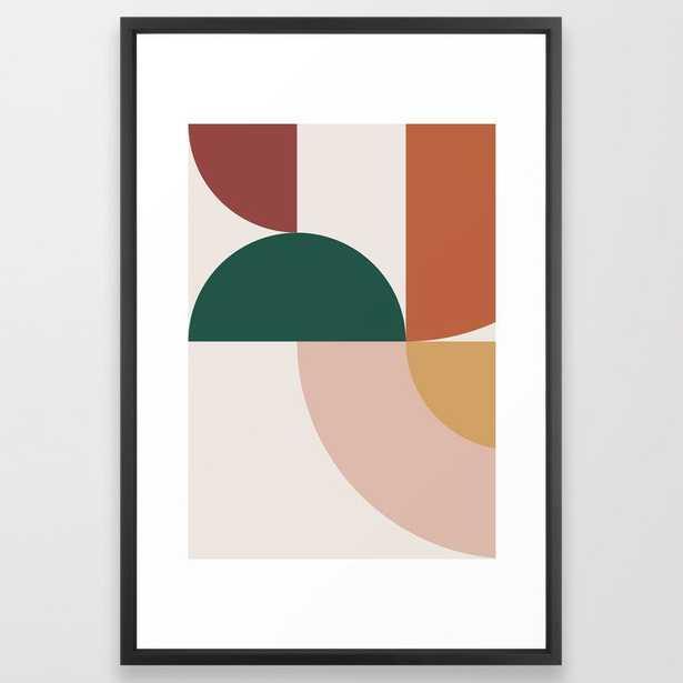 Abstract Geometric 12 Framed Art Print - Society6