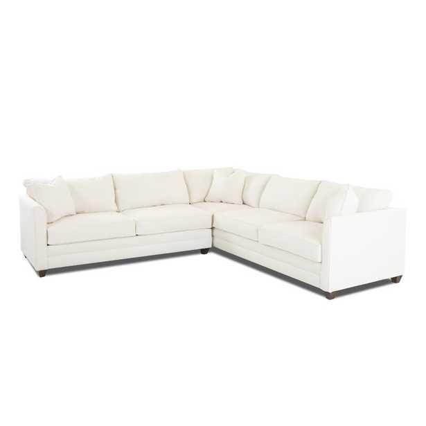 Symmetrical Sectional- Classic Bleach White - Wayfair