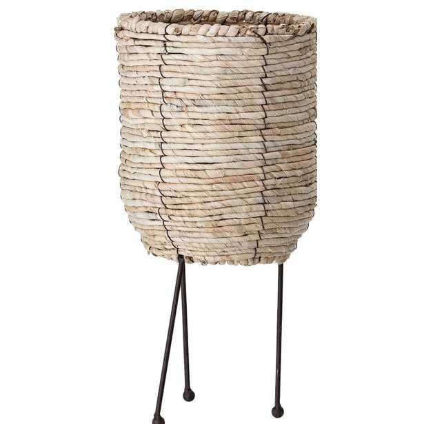 Klimek Large Rattan Pot Planter - Wayfair