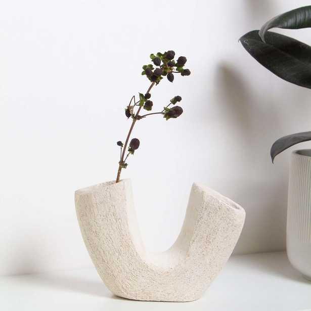 Keraclay LIMA SCULPTURE White SculptureClay Medium Sculpture - West Elm