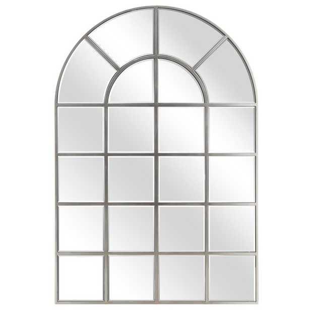 McKenney Arch Window Pane Wall Mirror - Wayfair