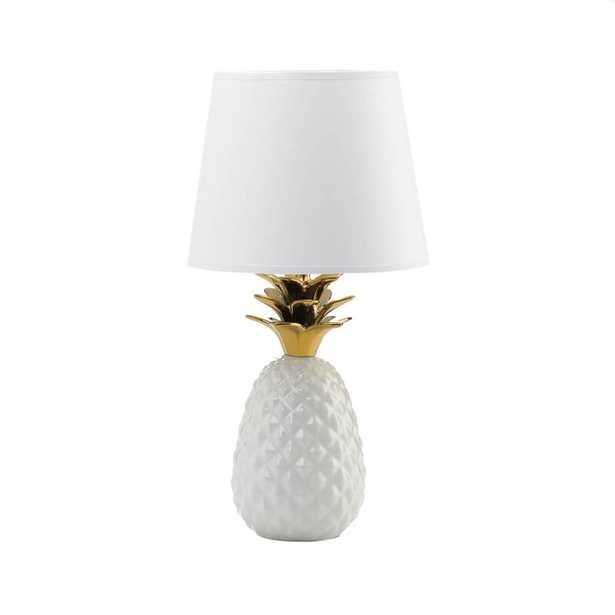 "Sade Topped Pineapple 20"" Table Lamp - Wayfair"