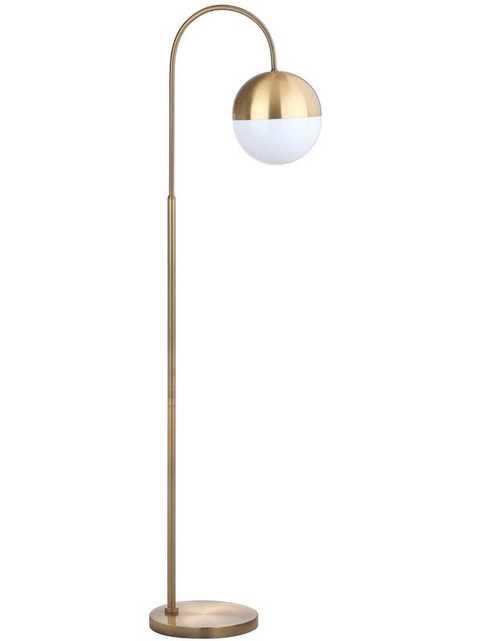 """Sadie 55.5"""" Arched Floor Lamp - AllModern"""