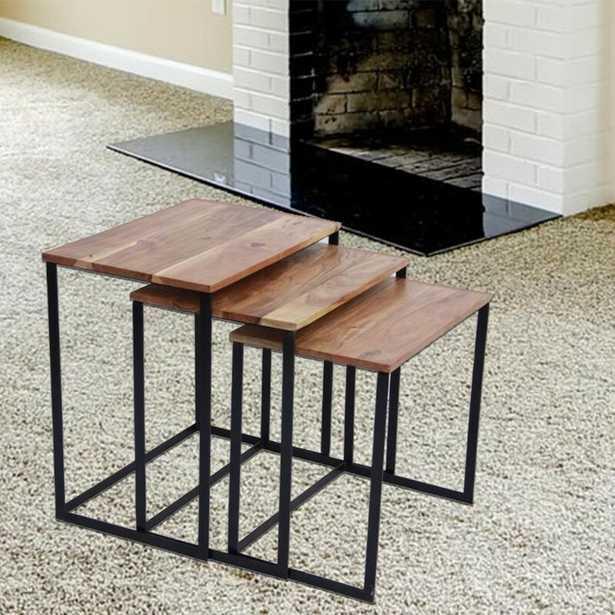 Auden 3 Piece Nesting Tables - Wayfair