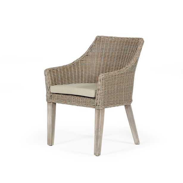 Vinci Patio Dining Armchair with Cushion - Wayfair