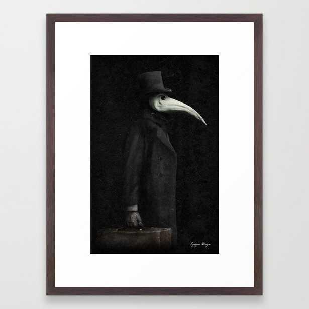 Las Plagas Framed Art Print - Society6