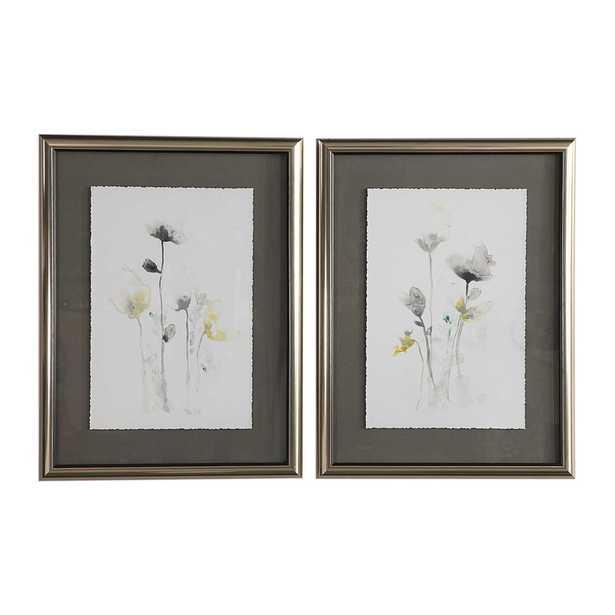 Stem Illusion Framed Prints, S/2 - Hudsonhill Foundry