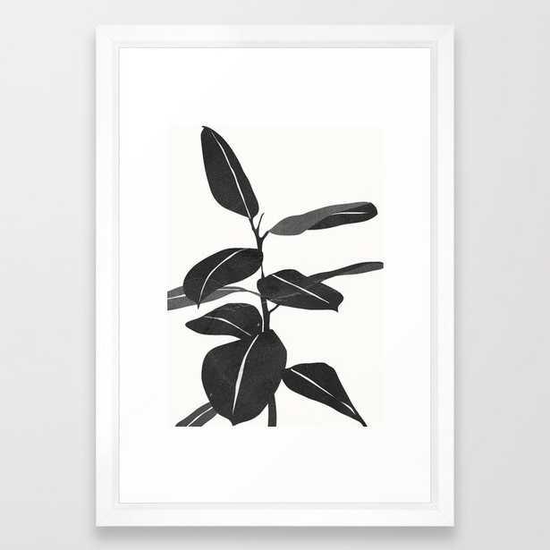 Plant 7 Framed Art Print - Society6