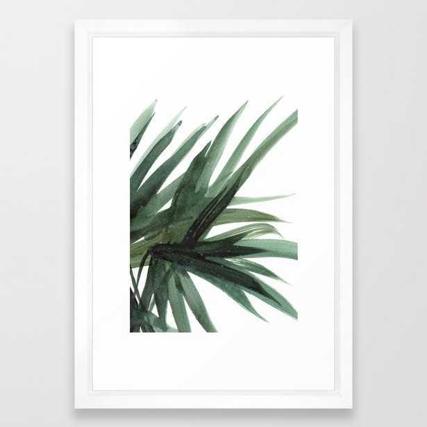 Palm Framed Art Print - Society6