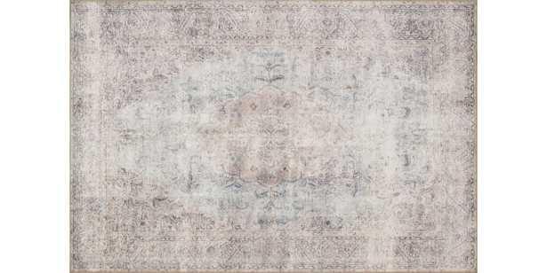 "LQ-04 SILVER / SLATE, 7'6"" x 9'6"" - Loma Threads"