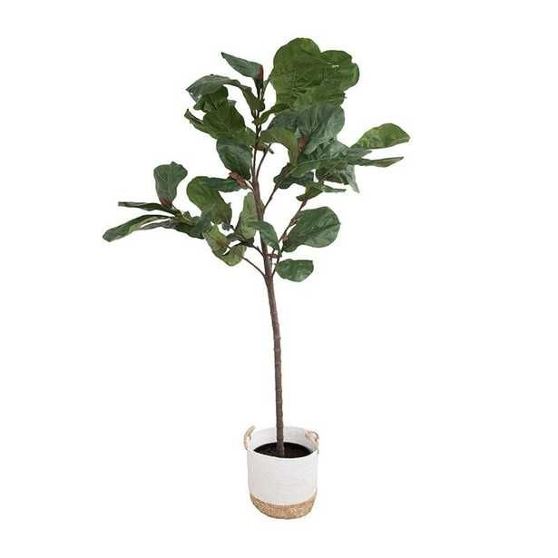 FAUX POTTED FIDDLE LEAF TREE - McGee & Co.