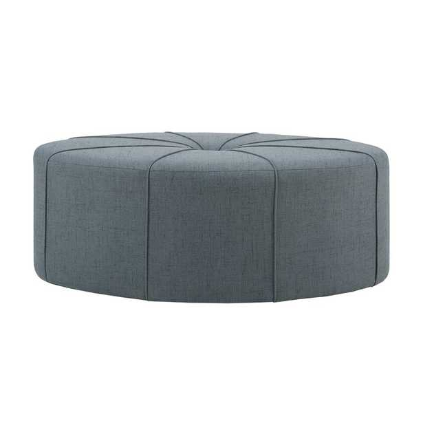 """Christopher 48.5"""" Wide Tufted Oval Cocktail Ottoman - Wayfair"""