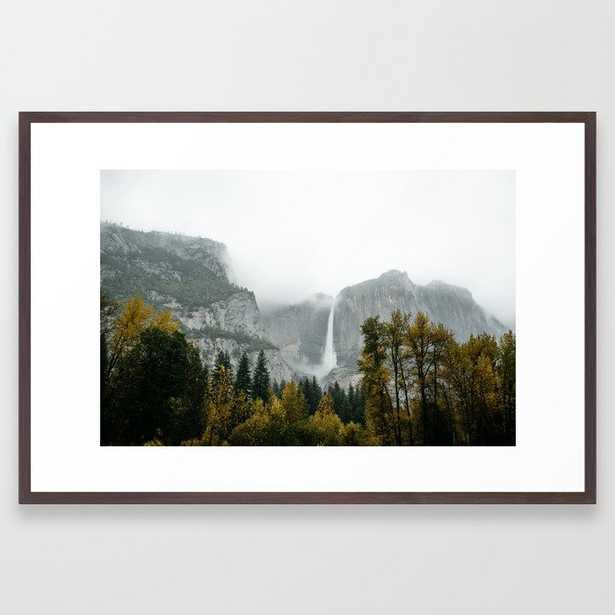 Yosemite Falls Framed Art Print - Society6