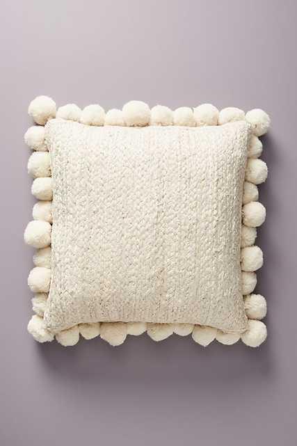 Pommed Jute Pillow - Anthropologie