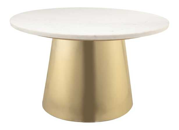 Maddison Marble Cocktail Table - Maren Home