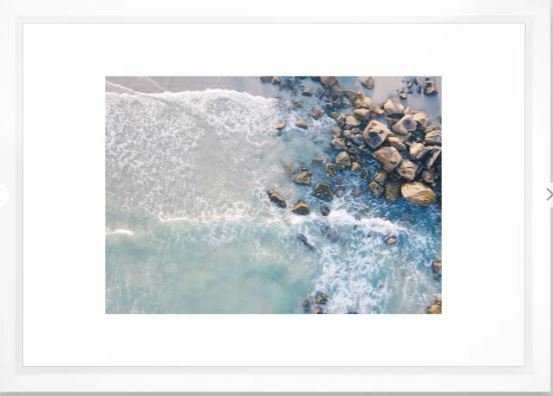 Beach Framed Art Print - Society6