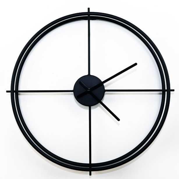 """Arissa 20"""" Wall Clock - Wayfair"""